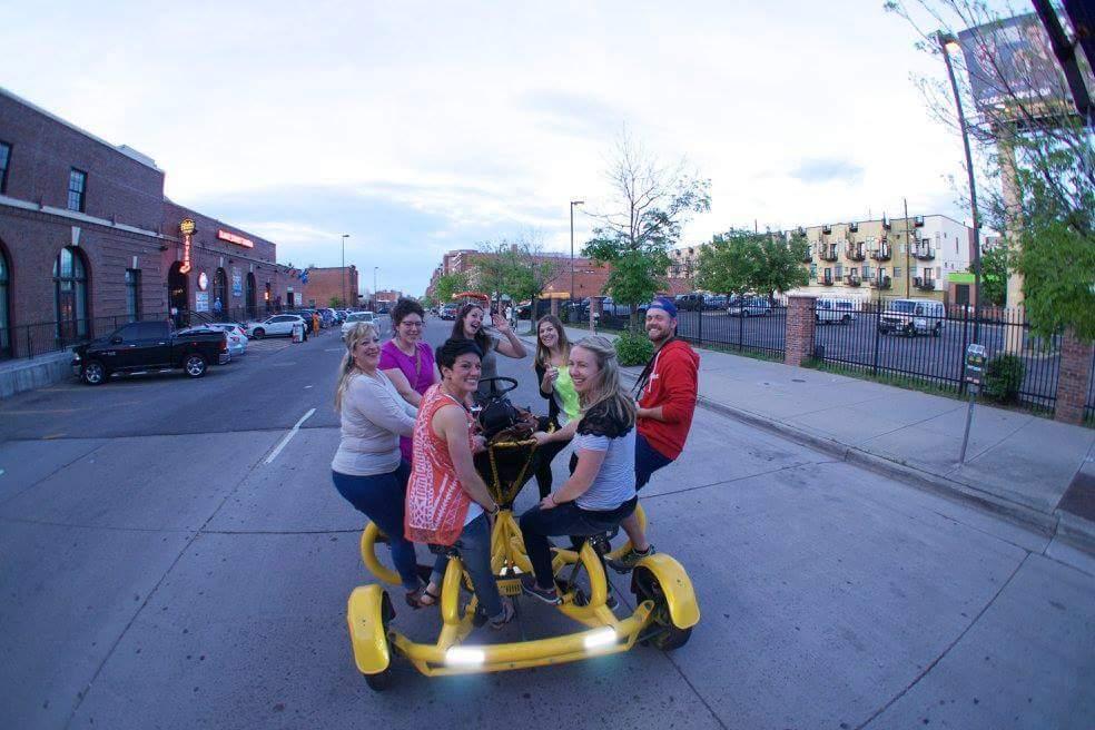 Patio Crawler Bike Bar Tours Tulsa